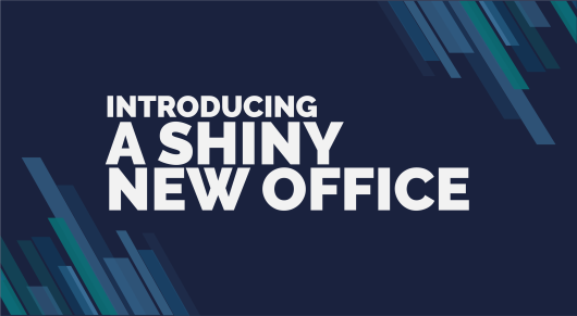 Introducing... A Shiny New Office!