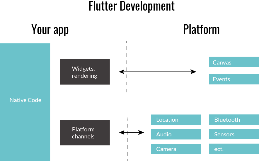 Diagram of Flutter Development